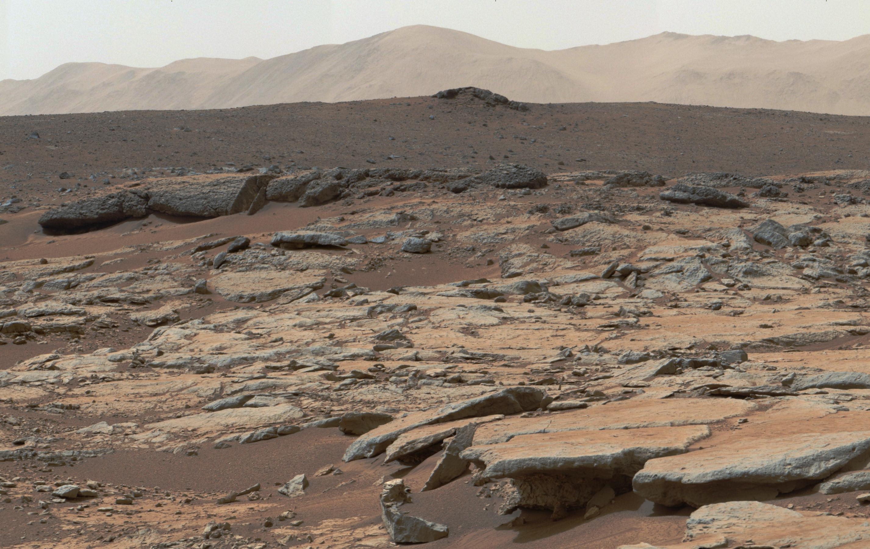 Space Images | Erosion by Scarp Retreat in Gale Crater