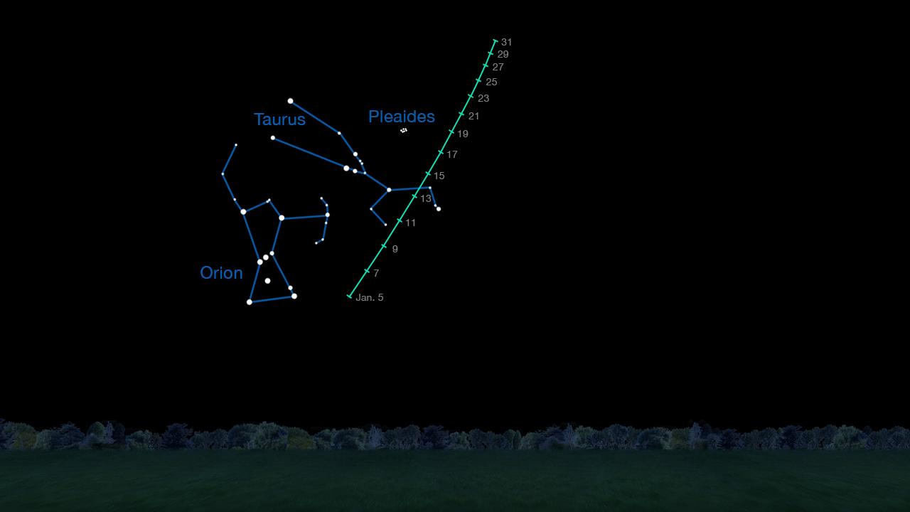 Night Sky Chart: Space Images | Finder Chart for Viewing Comet C/2014 Q2 (Lovejoy),Chart