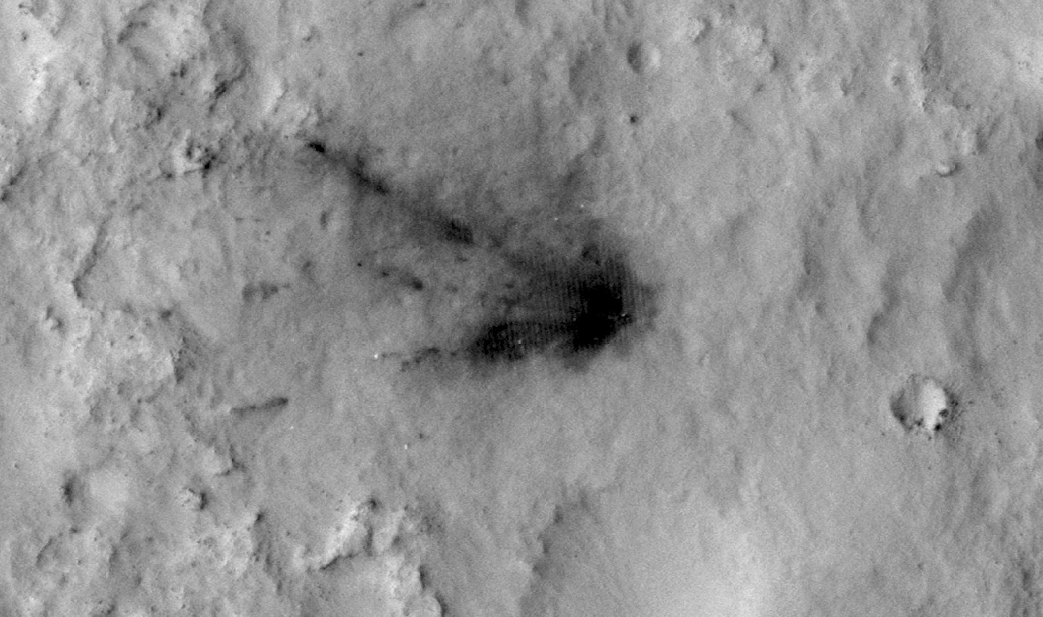 Space Images | Changes in Scars From 2012 Mars Landing
