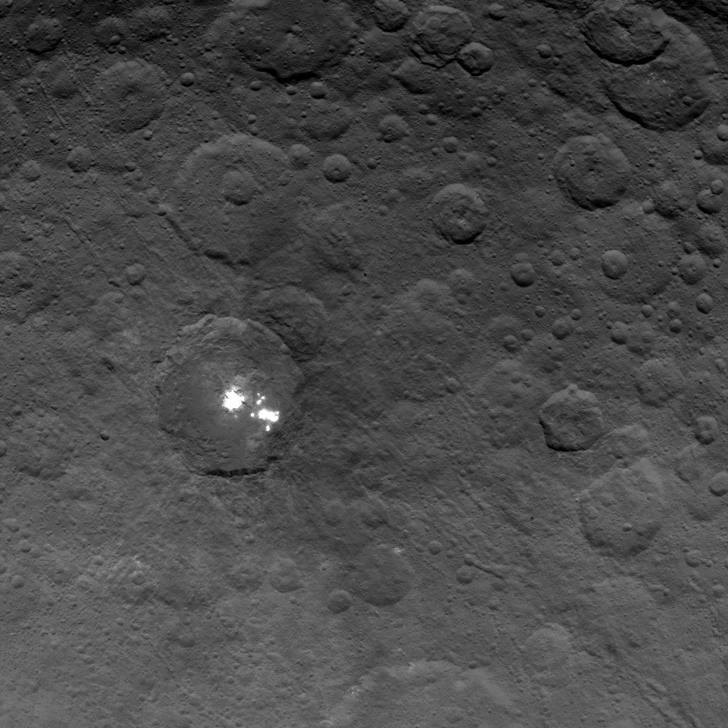 Krater auf Ceres