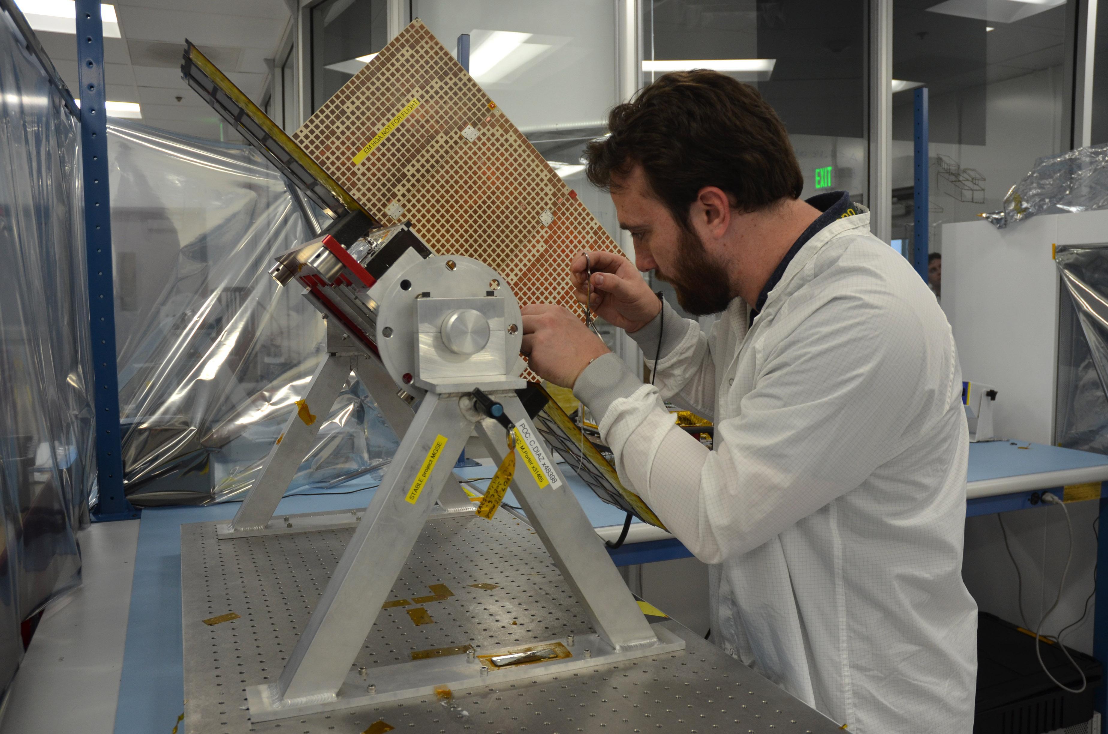 Space Images Marco Cubesat Model