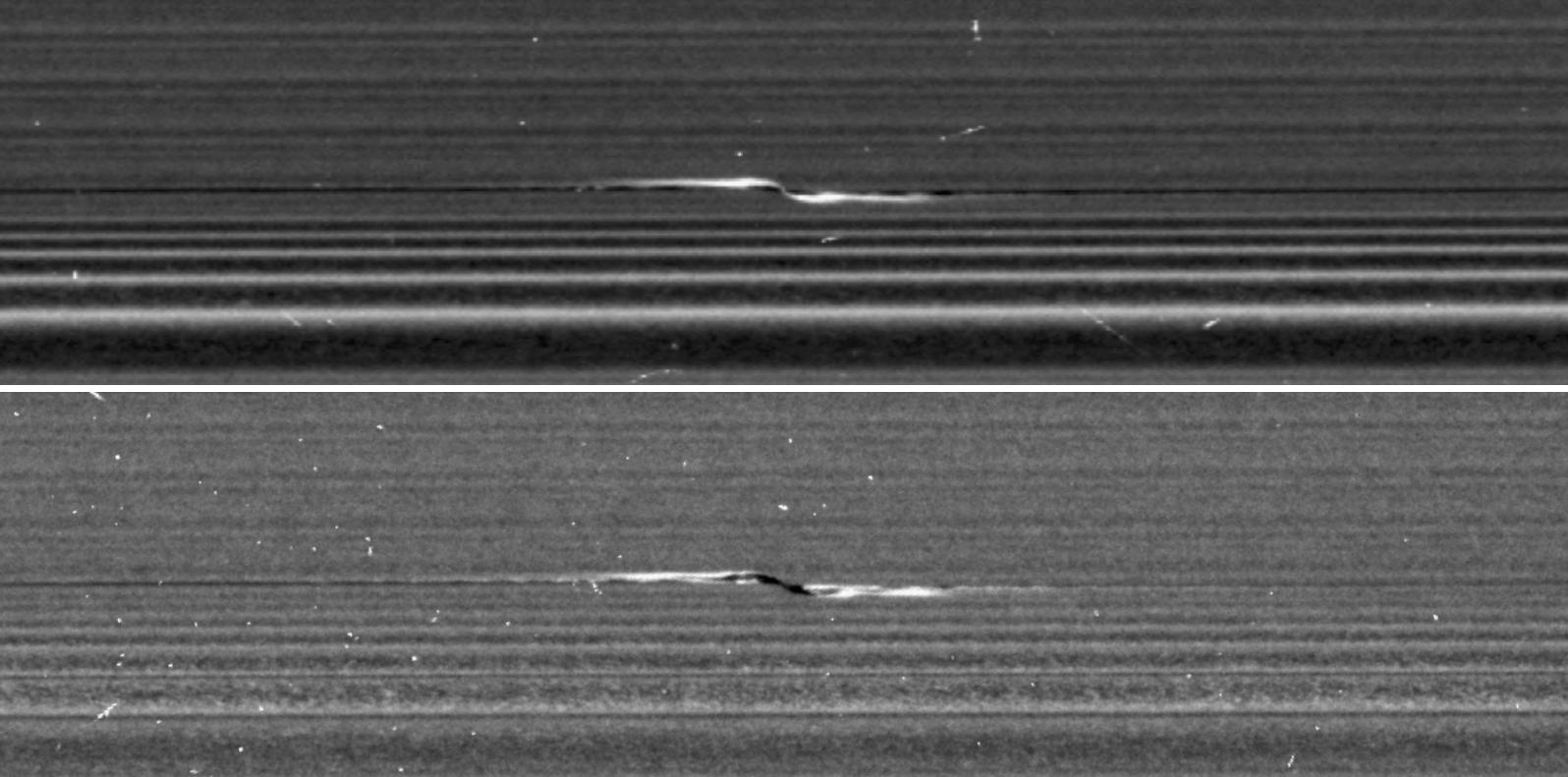 Space Images | Cassini Targets a Propeller in Saturn's A Ring