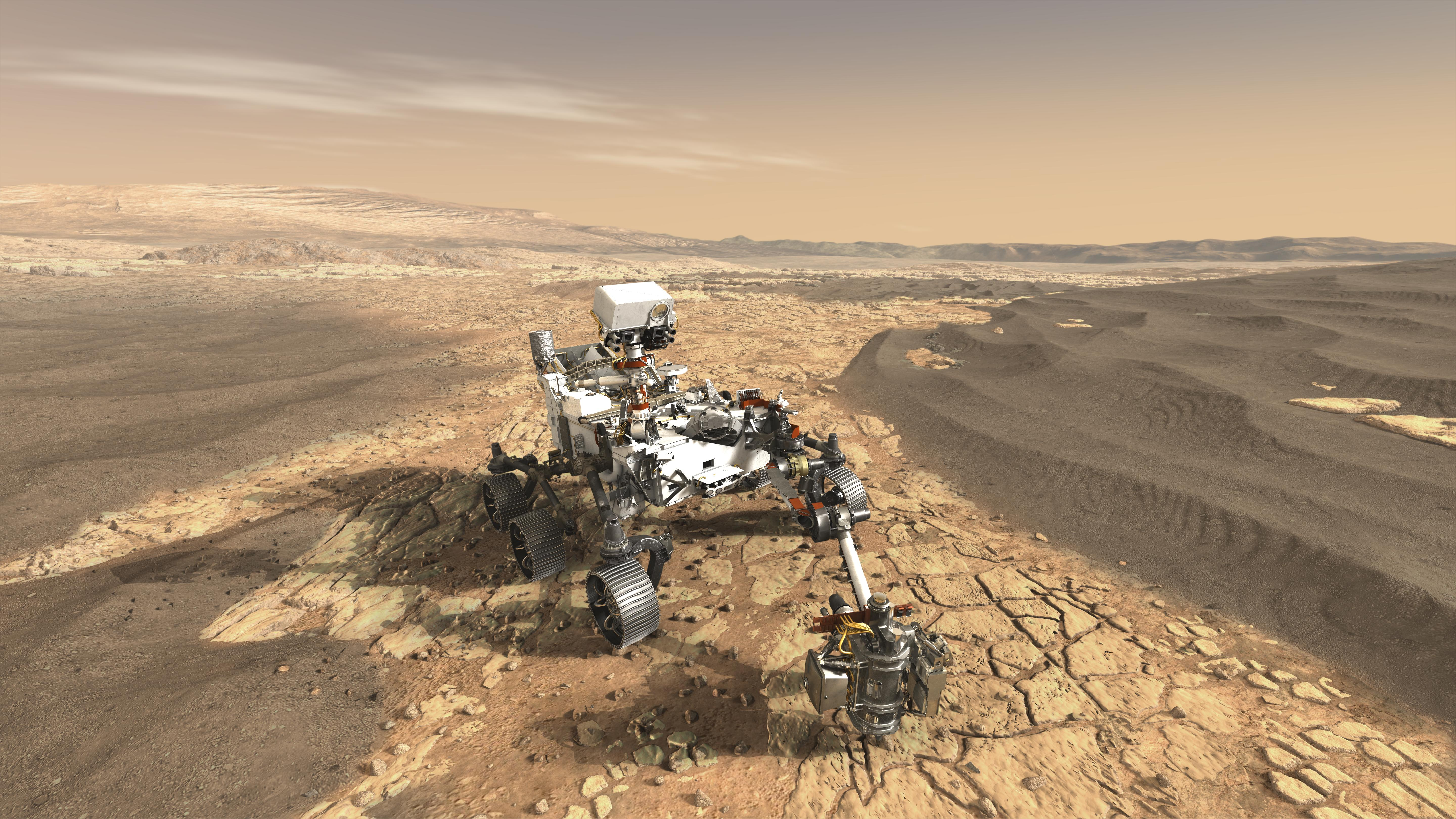 Space Images | NASA's Mars 2020 Rover Artist's Concept #1