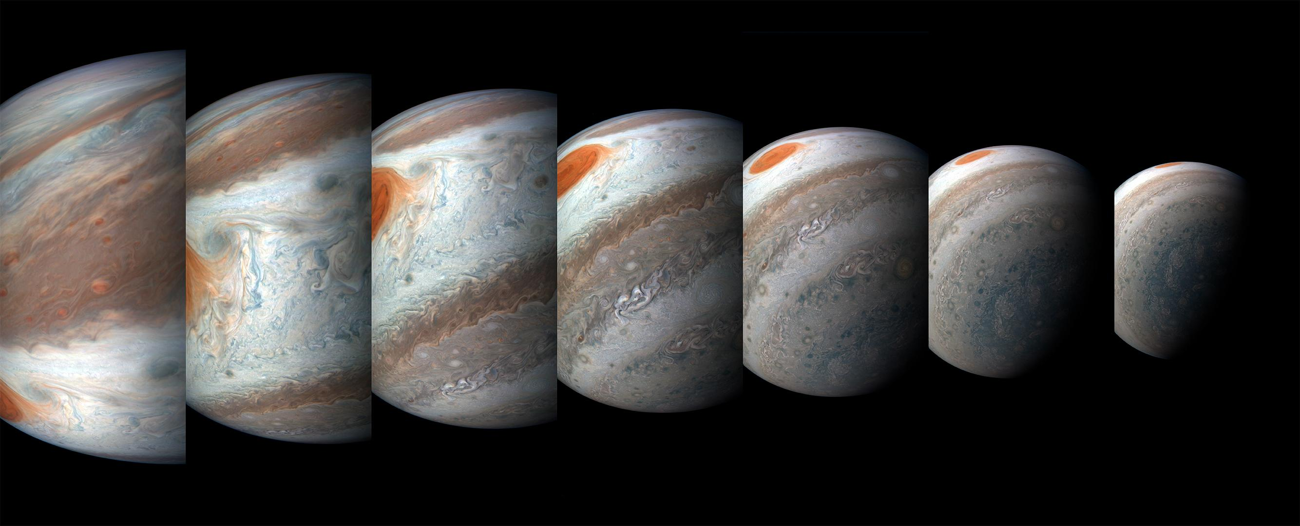 Space Images | Jupiter's South Tropical Disturbance
