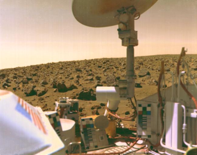 NASA's Viking lander on Mars