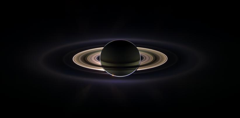 Saturn Eclipses the Sun