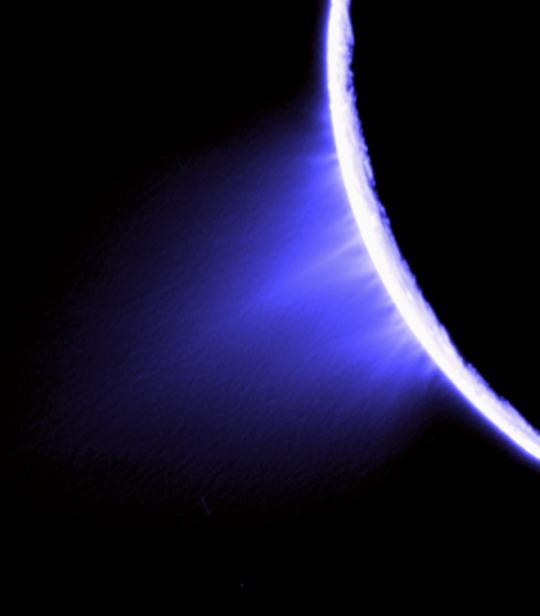 Les éruptions d'Encelade