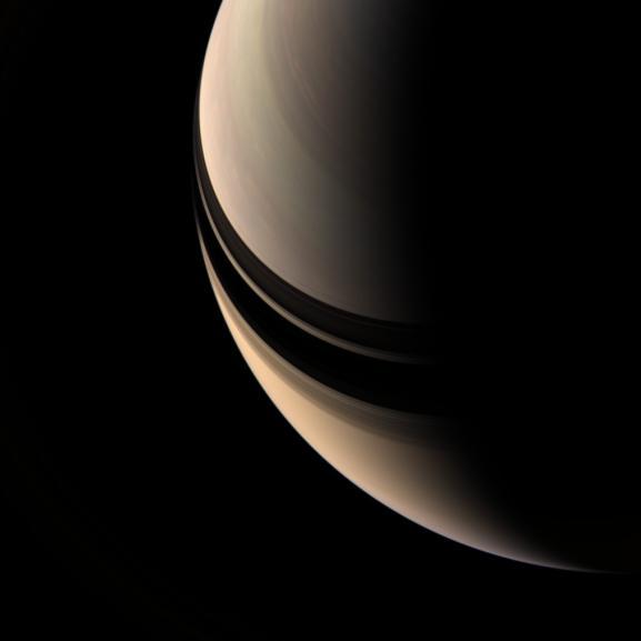 Plaisir des yeux avec Saturne