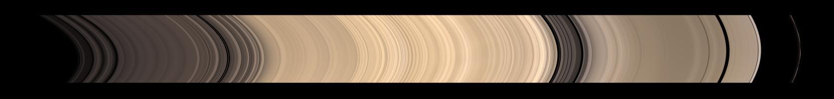 Nouvelle photo des anneaux de Saturne