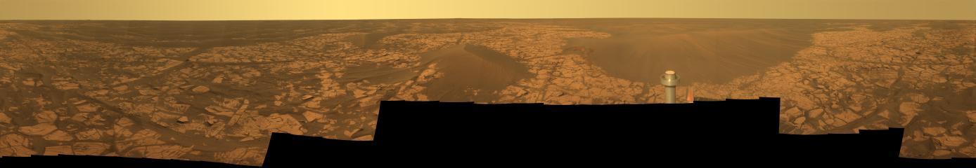Panorama Santorini de Mars photographié par Opportunity