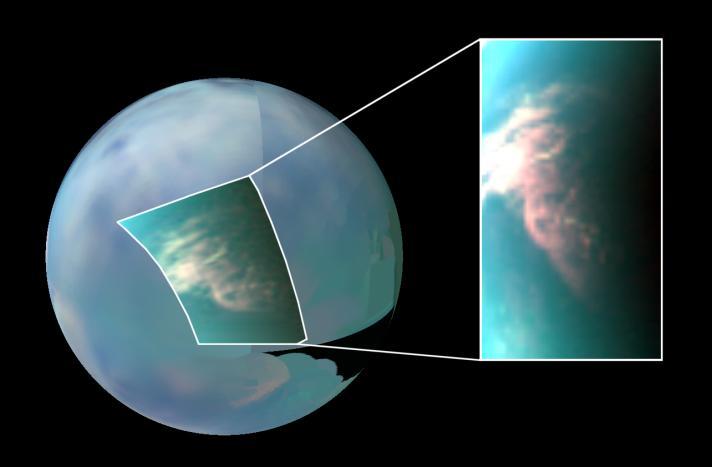 Observations météo sur Titan