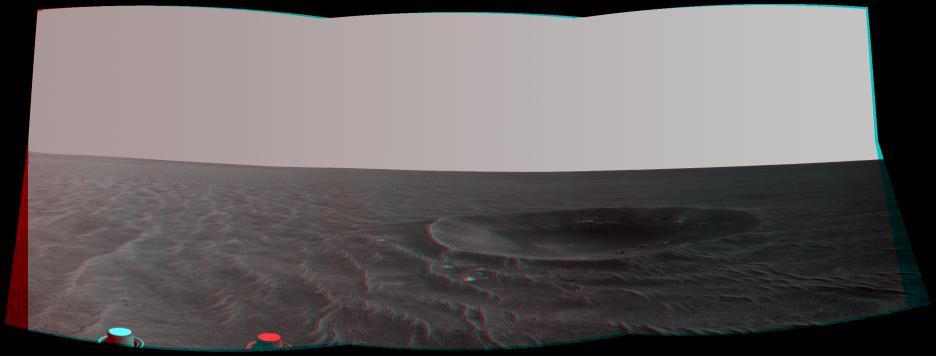 Imágenes en 3D del espacio