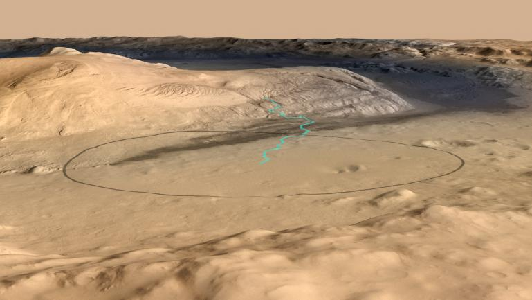 mars rover landing technique - photo #36