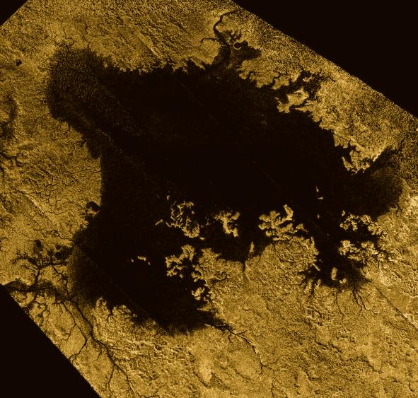 Saturn Moon Has 'Sea Level' Like Earth