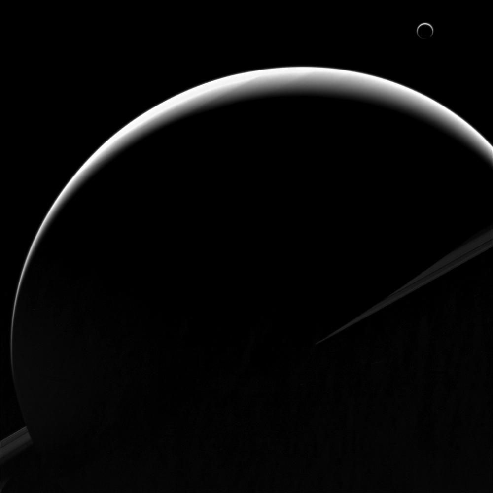 Saturn Silhouette