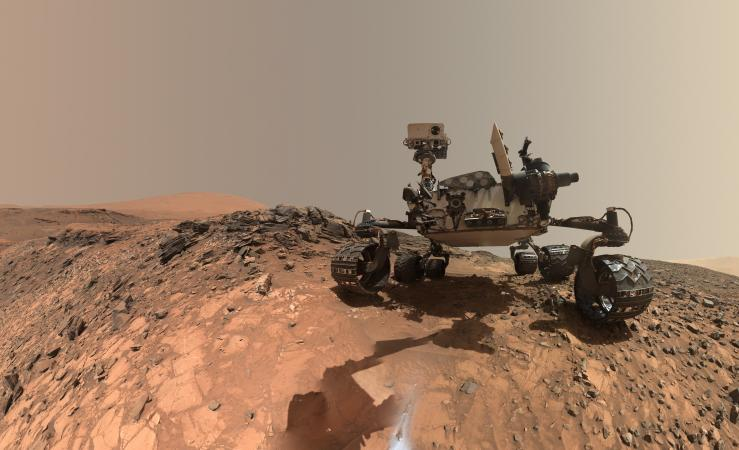 NASA Finds Ancient Organic Material, Mysterious Methane on Mars PIA19808_modest