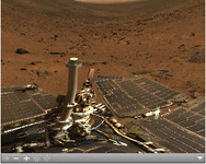 Click on the image for Summit Panorama with Rover (QTVR)
