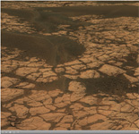 Click on the image for Opportunity's 'Olympia' Panorama (QTVR)