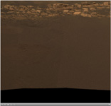 Click on the image for As Far as Opportunity's Eye Can See (QTVR)