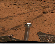Click on the image for 'Bonneville Crater' Panorama (QTVR)