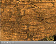 Click on the image for 'Burns Cliff' Color Panorama (QTVR)
