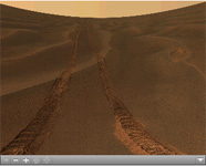 Click on the image for Opportunity's 'Rub al Khali' Panorama (QTVR)