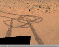 Click on the image for Legacy Panorama on Spirit's Way to 'Bonneville' (QTVR)