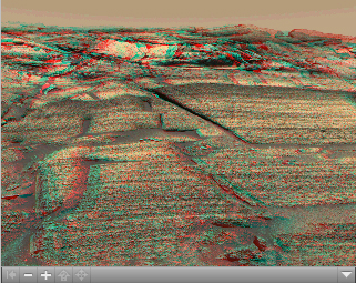 Click on the image for 'Burns Cliff' in Color Stereo (QTVR)