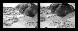 Stereo Images of Wind Tails Near Chimp