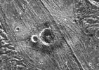 Nergal Crater on Ganymede