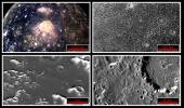 Four views of Jupiter's second largest moon, Callisto, highlight how increasing resolutions enable interpretation of the surface. North is to the top of these frames which were taken by the Solid State Imaging (SSI) system on NASA's Galileo spacecraft.