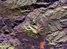 Space radar image of Galeras Volcano, Colombia