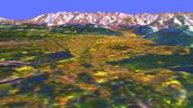 Space Radar Image of Missoula, Montana in 3-D
