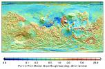 MOLA Global Roughness Map of Mars
