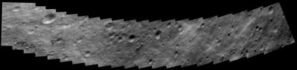 Eros Closest Approach Mosaic