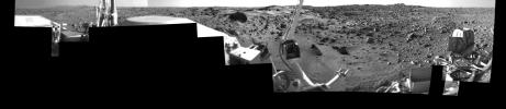 Morning on Chryse Planitia - Viking Lander 1 Camera 1 Mosaic