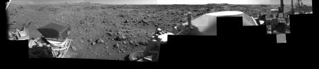 Afternoon on Chryse Planitia - Viking Lander 1 Camera 2 Mosaic