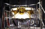 Mars Exploration Rover (MER) spacecraft -- areoshell (encapsulating the rover and lander) plus cruise stage.