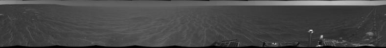Opportunity's View After Sol 321 Drive