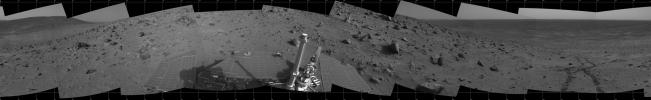 Spirit 360-Degree View, Sol 388