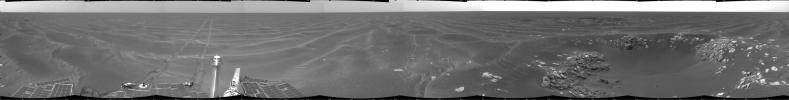 'Naturaliste' Crater, Opportunity SOl 387