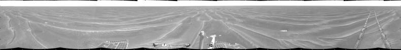 Opportunity View on Sol 397