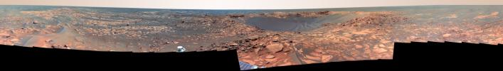 Of Craters and Erosion: Opportunity Examines