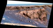 Band of Bright Rock (False Color)