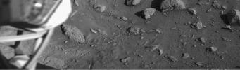 Mars Surface near Viking Lander 1 Footpad