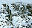 This image acquired by NASA's Terra spacecraft is of the northernmost land in the world is located in Pearyland, Greenland. This is a land of permanent snows, glaciers, and 24-hours of daylight during the summer months.