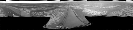 Opportunity's View After Drive on Sol 1806