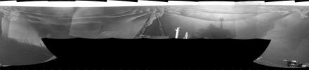 Wind-Sculpted Vicinity After Opportunity's Sol 1797 Drive