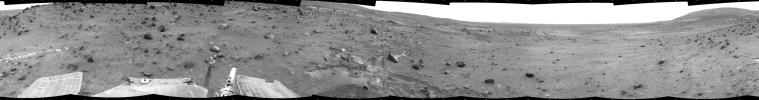Time for a Change; Spirit's View on Sol 1843