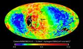 Data from NASA's Cassini spacecraft have enabled scientists to create this map of the heliosphere, the bubble of charged particles around our sun. Charged particles stream out from our sun in a phenomenon known as solar wind.